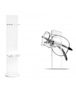 E-126 ESP-E - Portaocchiali in plexiglass trasparente a 2 ripiani