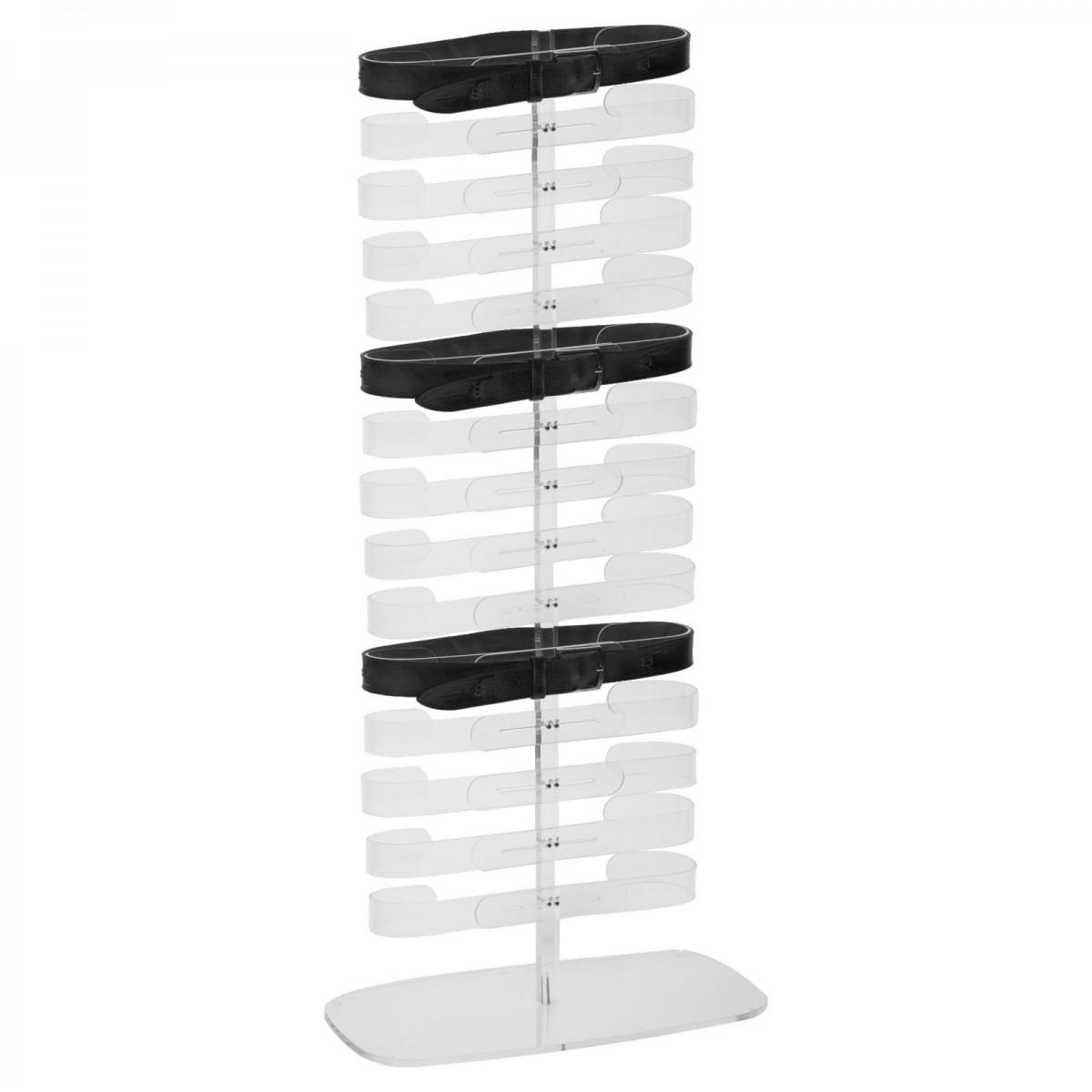 Porta coppette in plexiglass trasparente da 4 colonne - Colonne porta cd ...