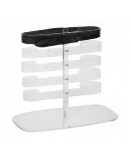 E-296 - Porta cintura regolabile in plexiglass trasparente