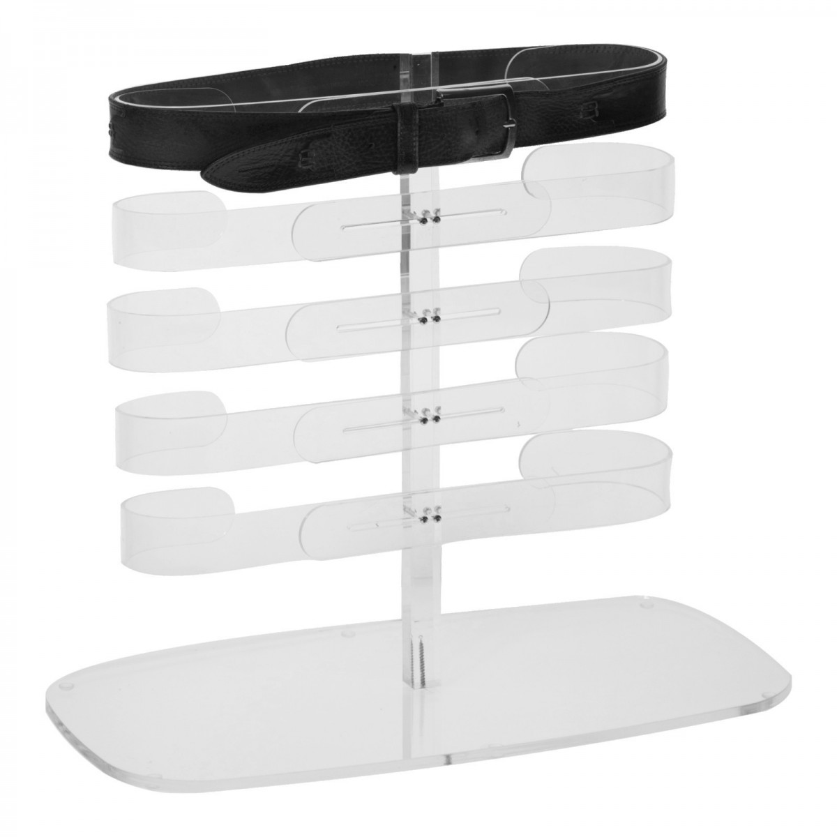 brillendisplay aus plexiglas transparent mit 10 f cher. Black Bedroom Furniture Sets. Home Design Ideas