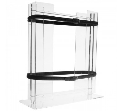 Acrylic belt display