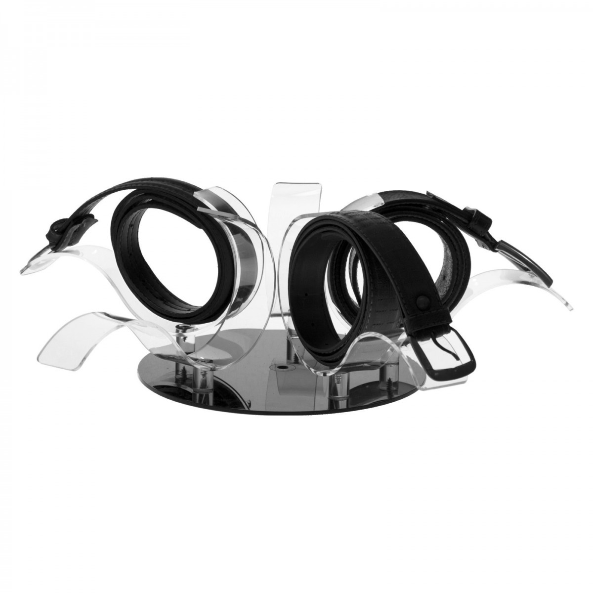 E-304 - Porta cintura in plexiglass trasparente