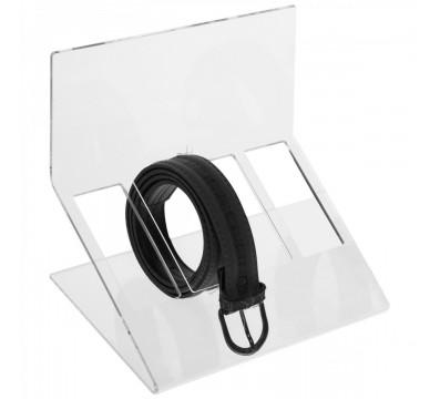Porta cintura in plexiglass trasparente