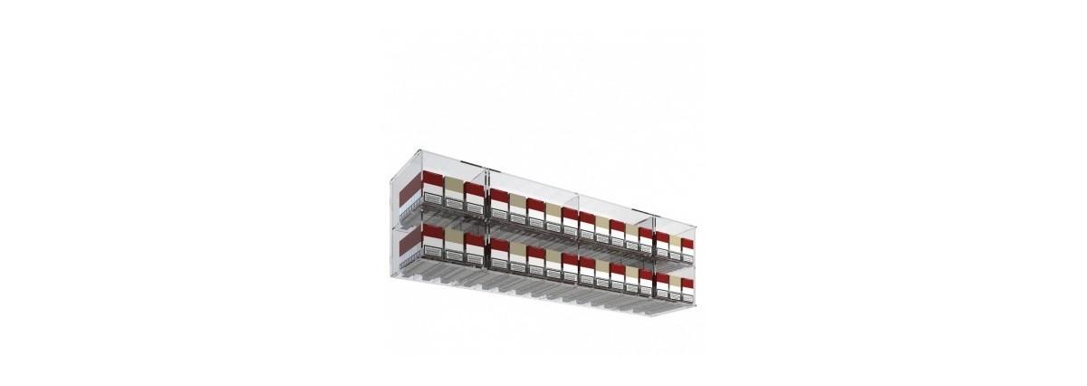 Espositori porta sigarette in plexiglass